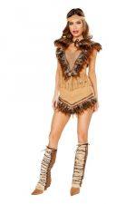 Fantasia tipo India Pocahontas